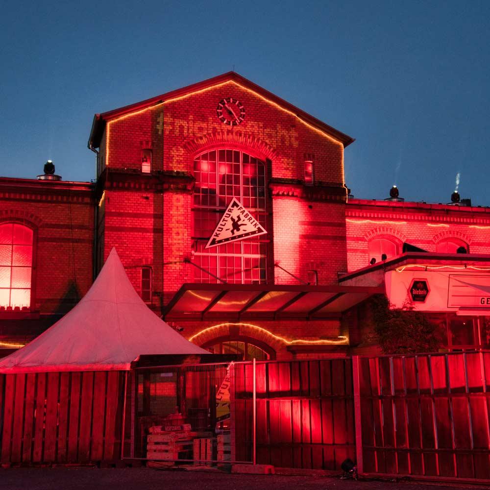 Kulturfabrik Krefeld e.V Veranstaltungen aussenansicht