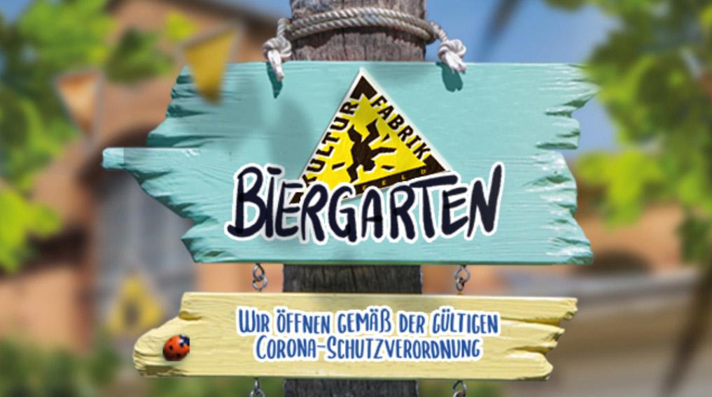 Kulturfabrik Krefeld e.V Veranstaltungen Biergarten