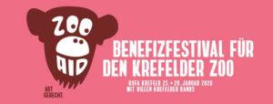 Kulturfabrik Krefeld e.V Veranstaltungen Zoo Aid
